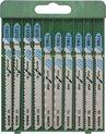 Bosch Decoupeerzaagbladen Set - 10 delig - Voor zagen in metaal
