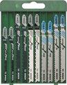 Bosch Decoupeerzaagbladen Set - 10-delig - Voor zagen in hout en metaal