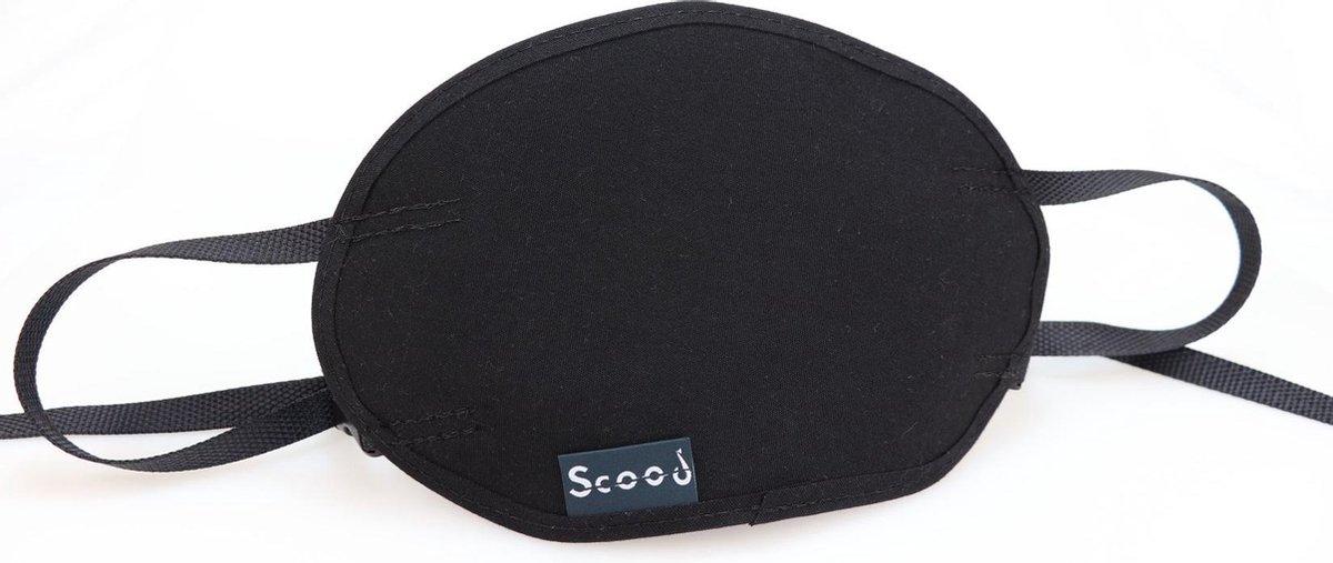 Scood   Beschermhoes voor kilometerteller van je scooter   Universeel Zwart   SC01