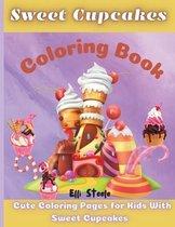 Sweet Cupcakes Coloring Book