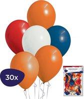 Ballonnen - 30 stuks - Koningsdag - Koningsdag Versiering
