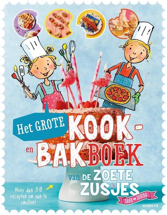 Omslag van Het grote kook- en bakboek van de zoete zusjes