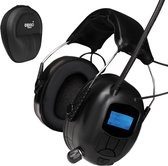 Gehoorbescherming met radio | Premium  DAB+ | EAR-20-D | Oorkappen Bluetooth | opbergcase