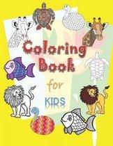 Coloring Book for Kids: Coloring Book for Kids