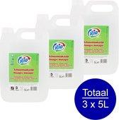 Schoonmaakazijn | 3 x 5 liter | Extra krachtig tegen tegelaanslag | Voordeel verpakking schoonmaakazijn