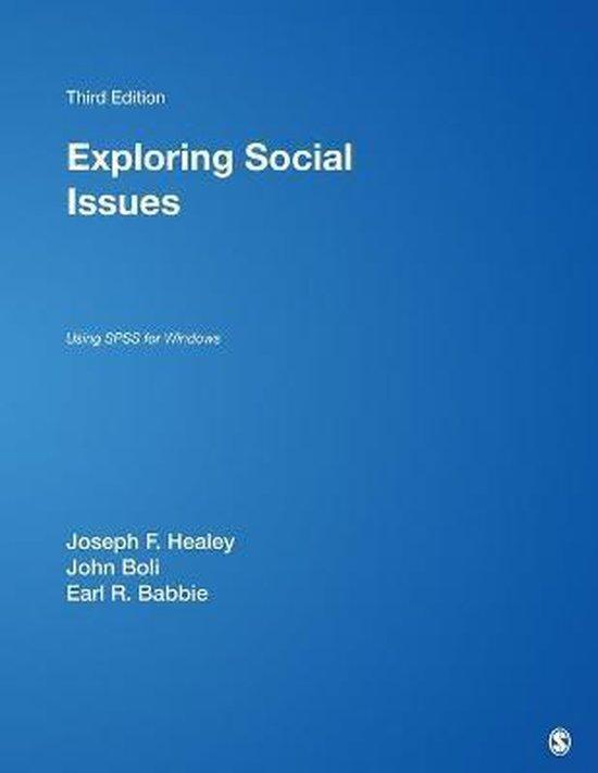 Boek cover Exploring Social Issues van Joseph F. Healey (Paperback)