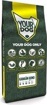 Yourdog kanaän hond pup - 12 kg - 1 stuks