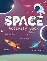 Space Activity Book: Games, Coloring, Puzzles, Sudoku, Word Search, Cut and Glue, and More! Learn the Planets of the Solar System with this
