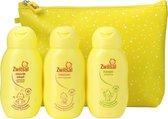 Zwitsal Kleintje op Reis - Bodylotion, Wasgel, Shampoo en Reistasje - Cadeaupakket