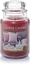 Yankee Candle Large Jar Geurkaars - Home Sweet Home