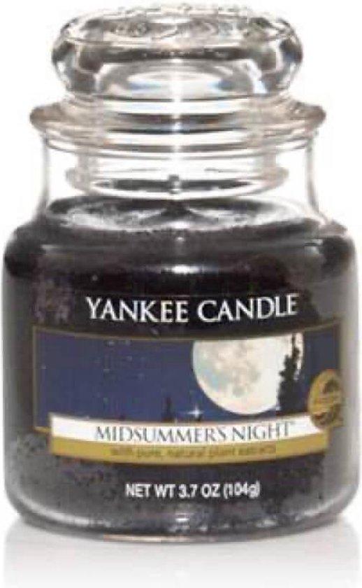 Yankee Candle glazen kaars, klein, Midsummers Night