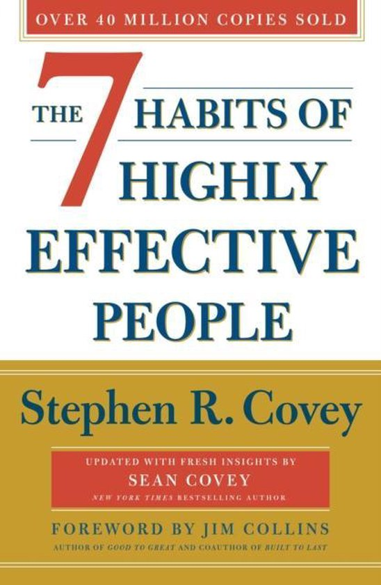 Boek cover The 7 Habits Of Highly Effective People van Stephen R. Covey (Paperback)