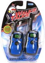 Walkie Talkie Set Blauw/Zwart