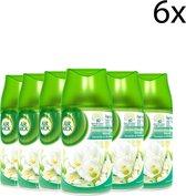 Air Wick Luchtverfrisser navulling Freshmatic Jasmijn & Witte Bloemen 6 x 250 ml