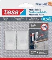 tesa® Klevende Haak voor behang en pleisterwerk 0,5 kg
