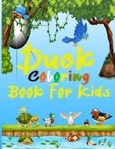 Duck Coloring Books For Kids