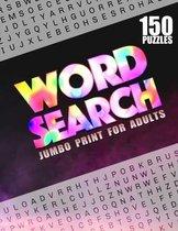 Word Search Jumbo Print For Adults