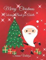 Merry Christmas: Coloring Book for Adults
