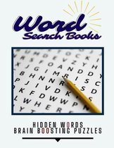 Word Search Books Hidden Words Brain Boosting Puzzles
