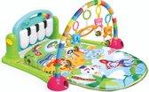 Babygym Safari - Babystartup - Babygym speeltjes - Speelkleed baby - Speeltapijt - Speelmat met boog - Muziek speelmat - 3-in-1 Muzikale Activity - Groen