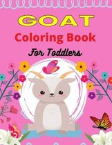 GOAT Coloring Book For Toddlers