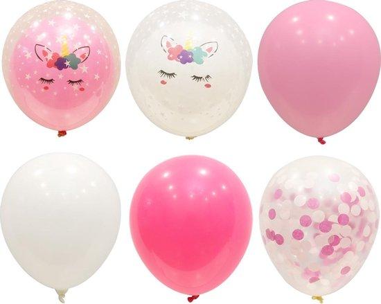 40 stuks  Eenhoorn Ballonnen  MagieQ  Feest|Party|Kinderfeesje|Decoratie|versiering|Kerst|