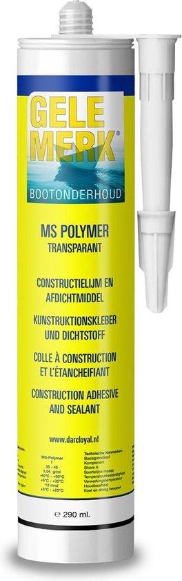 Gele Merk Montagekit MS Polymer - transparant
