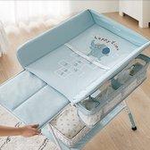 Opvouwbare Baby Luiertafel - Commode - Inklapbare Commode - Baby Verschoontafel Opklapbaar - Inklapbare Aankleedtafel Baby - Commode Goedkoop kopen