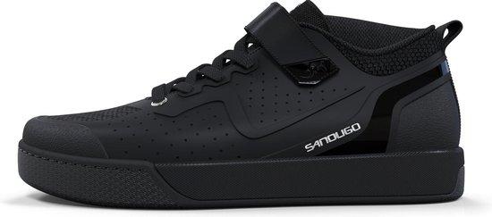Sandugo Cadmus - Mountainbike Schoenen Spd - Fietsschoenen - Mtb Schoenen Spd - Maat 43 - Zwart