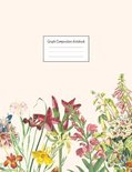 Graph Composition Notebook: Grid Paper Notebook: Large Size 8.5x11 Inches, 110 pages. Notebook Journal: Realistic Flower Picture Workbook for Pres
