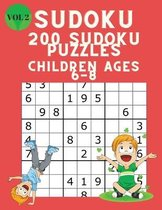 Omslag Sudoku 200 Sudoku Puzzles for Children Ages 6-8