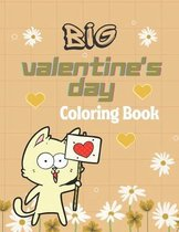 Big Valentine's Day Coloring Book