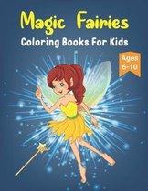 Magic Fairies Coloring Books For Kids