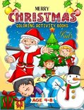 Merry Christmas Coloring Activity Books For Kids Age 4-8