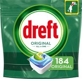 Bol.com-Dreft Original All In One Regular - Voordeelverpakking 4x46 stuks - Vaatwastabletten-aanbieding
