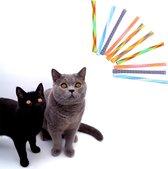 Make Me Purr Kitty Boinks Springveren (10 stuks) - Kattenspeeltjes - Kattenspeelgoed - Speelgoed voor Katten Veertjes - Kat Speeltje Springveer - Kitten Speeltjes Springveertjes - Kattenveertjes