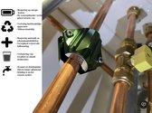 Carefree Waterontharder - + GRATIS paar extra lange schroeven - Waterontharder magneet - Waterverzachter - Waterontharder waterleiding - Waterontkalker -  7500 GAUSS - Antikalk - Energiebesparend