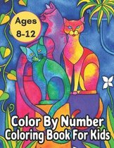 Ages 8-12 Color By Number Coloring Book For Kids