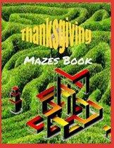 Thanksgiving Mazes Book