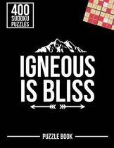 Igneous Is Bliss Geologist Sudoku Geology Humor Puzzle Book