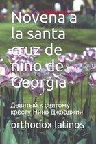 Novena a la santa cruz de nino de Georgia