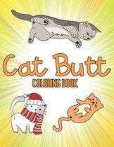 Cat Butt Coloring Book