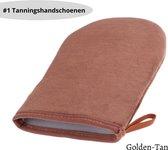BeautyFit - Zelfbruiner Handschoen - Tanning Handschoen - Tan Handschoen - Goud/bruin - Beste kwaliteit Tanningshandschoenen
