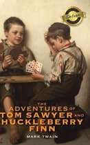 The Adventures of Tom Sawyer and Huckleberry Finn (Deluxe Library Binding)