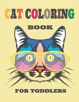 Cat Coloring Book for Toddlers