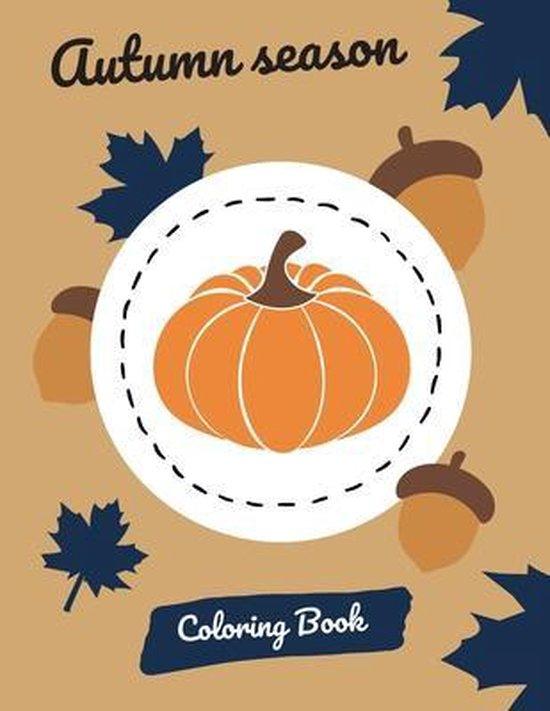 Autumn Season Coloring Book