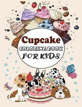 Cupcake COLORING BOOK FOR KIDS
