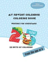 My Advent calendar Coloring book