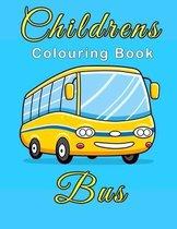 Children's Bus Colouring Book