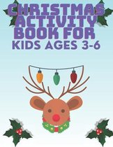 Christmas Activity Book for Kids Ages 3 - 6